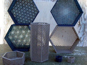 Parametric Hexagonal Boxes