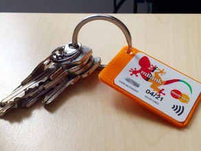 Parametric Payment Keychain