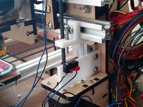 Maker Farm Prusa I3V Z-Axis End Stop Adjustment