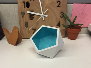 Geometric Desk Planter or Container