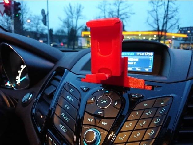 Car Styling GPS Mobile Phone Holder Bracket For Ford Kuga