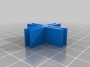 Cardboard Construction Piece Variants