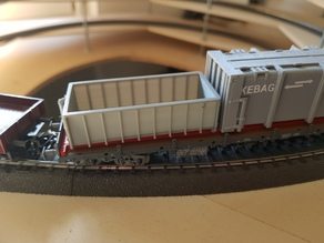 Abrollmulde/Container 1:87/H0