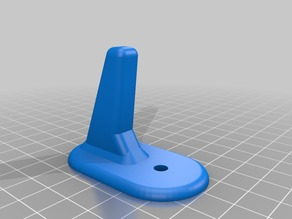 Wall Hook - Parametric (rounded)