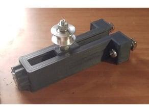 Aluminum extrusion profile universal GT2 belt tensioner