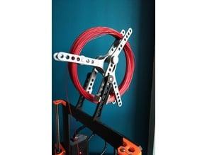 Extended spool holder for Prusa i3 MK2