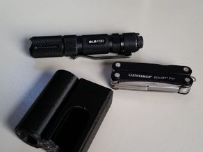 Box for Leatherman Squirt PS4 and Walther SLS 100 Flashlight