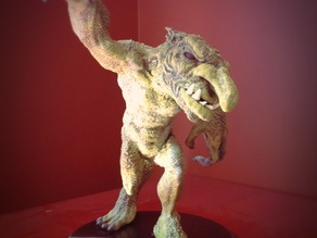 Large Troll Statue