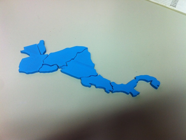 Central America map puzzle (with tutorial) by StephanH