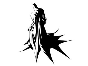 Batman Stencil Airbrush