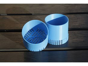Silicagel container for filament