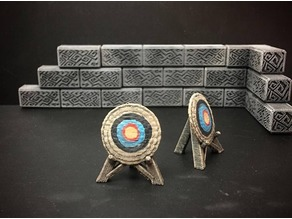 Delving Decor: Archery Target (28mm/Heroic scale)