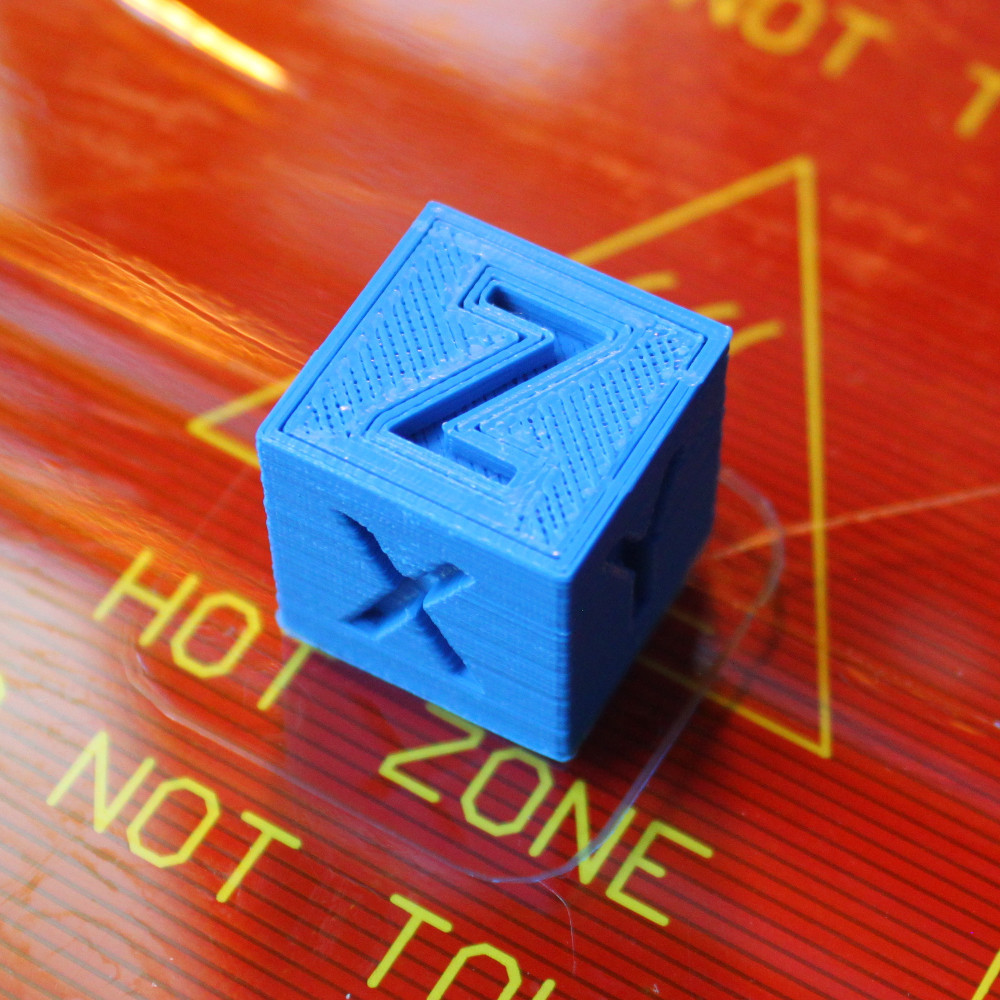 XYZ 20mm Calibration Cube by iDig3Dprinting - Thingiverse