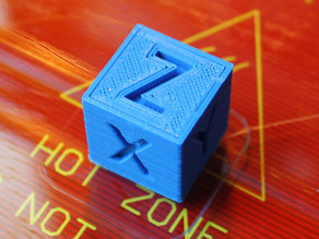 XYZ 20mm Calibration Cube