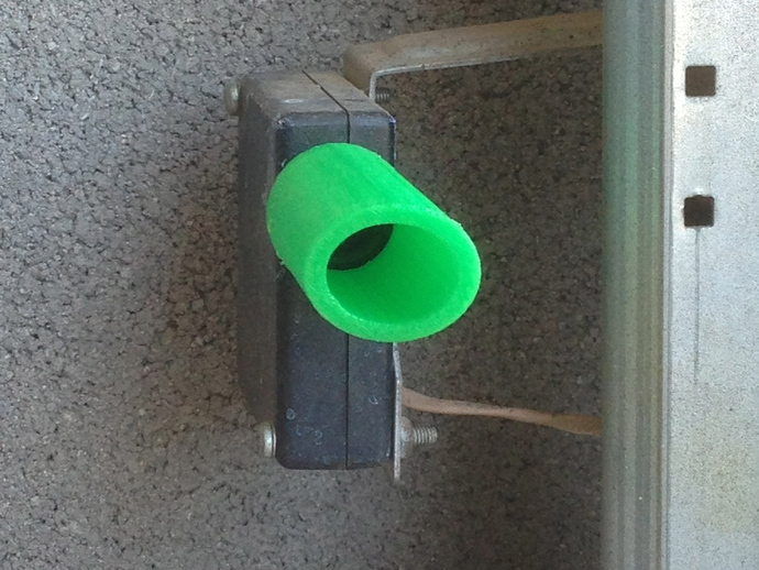 Garage Door Sensor Sun Shield By Bmicallef Thingiverse