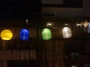 PacMan Inspired Light Shade for  IKEA SOLARVET