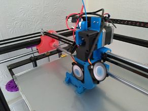 Tronxy X5S Linear Rod Direct drive stock extruder with E3D V6 and Volcano support