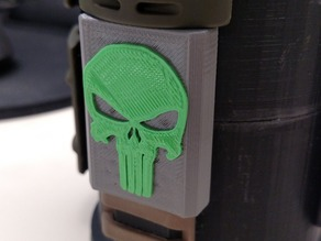 AR15 Picatinny Punisher Cover With Support