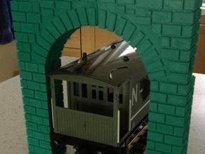 G scale arch