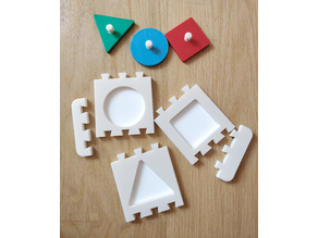 First Puzzle System (Montessori)