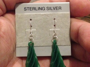 Christmas Tree/Winter Solstice Tree Earrings