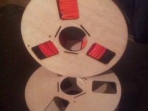Lasercut filament spool (30cm)