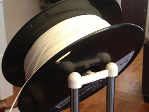 Simple spool holder for Printrbot