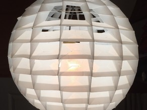 Lamp shade for indirect lighting