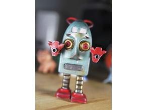 Robert the angry vintage robo