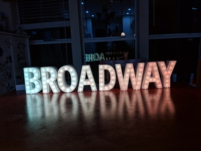 IoT Broadway Marquee Sign
