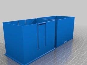Parametric Card Box Cardsize 60x90mm High:70 thickness 2