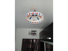 DIY UFO (Circus?) Lamp