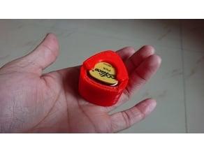 Guitar pic box