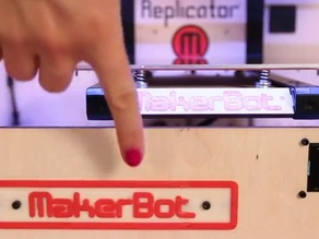 MakerBot Nameplate