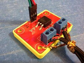 MKS Hot Bed Mosfet Module Bumper