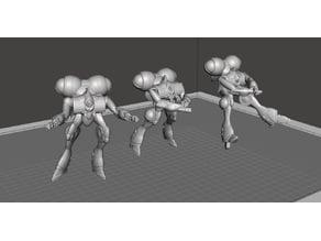 ROBOTECH Meltrandi FEMALE POWER ARMOR PRODUCTION LINE 5 model 3a