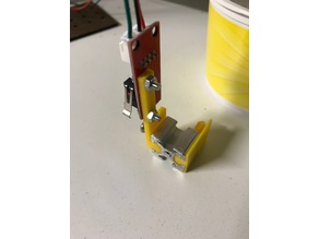 Limit switch holder 20mm makerbeam