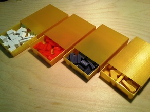 Settlers of Catan - Slide box / Matchbox container