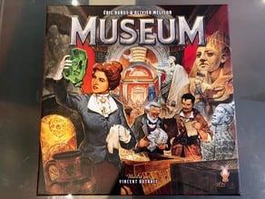 MUSEUM Boardgame organizer