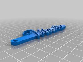 My Customized HD Font Keychain V2 (700 fonts)