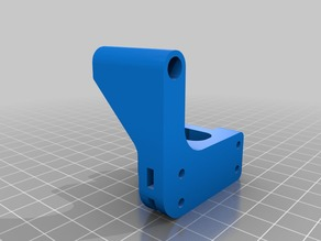 Improved Wanhao Duplicator i3 Plus Y-belt pulley block