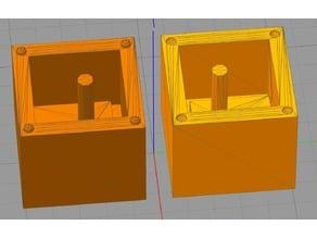 Mendel90 Silicone Heatbed-Damper