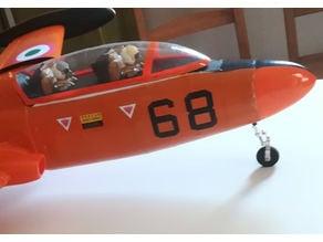 Jet Pilot figure 1/8