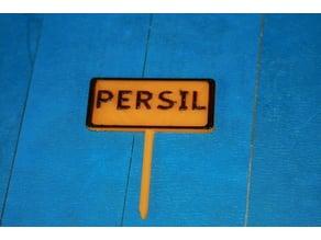 Panneau potager Persil