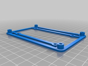 Azteeg X3 adapter for RAMPS mounting holes