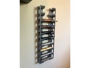 AAA Flashlight Storage Wall Mount