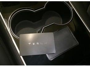 Tesla M3 Card Holder