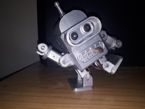Robot Otto Bender (with Arms)