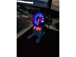Sim Racing speed indicator for tachometer