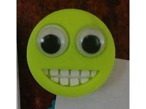Emoji Magnet - Googly Eye Smile with Teeth